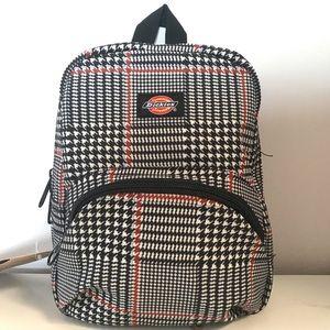 Dickies Plaid Mini Backpack